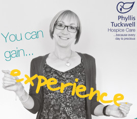 Have you got time to spare to help Phyllis Tuckwell through volunteering?