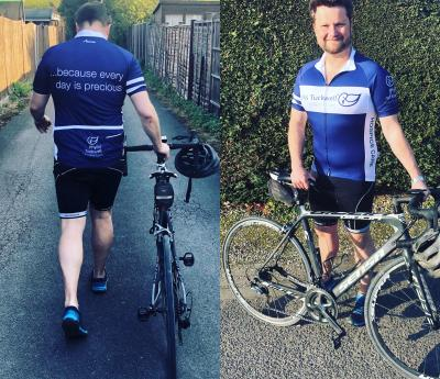 Pedal Power Doctor Raises 40th Funds for Phyllis