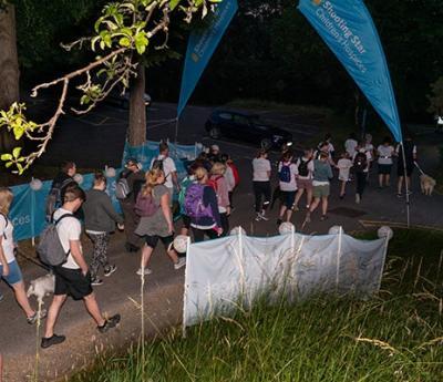 Sunrise success at Guildford Sunrise Walk