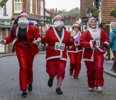 Christmas Fun Runs for Ho-Ho-Hospice Care