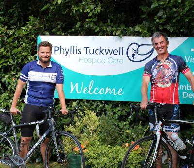 Epic Bike Ride raises Funds for Phyllis