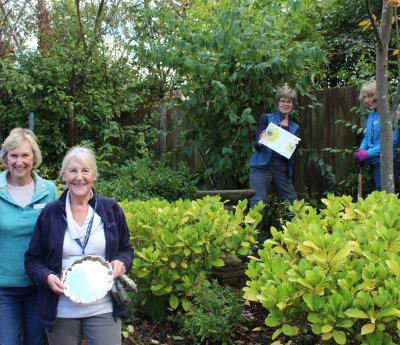Farnham In Bloom Award for Hospice Gardeners