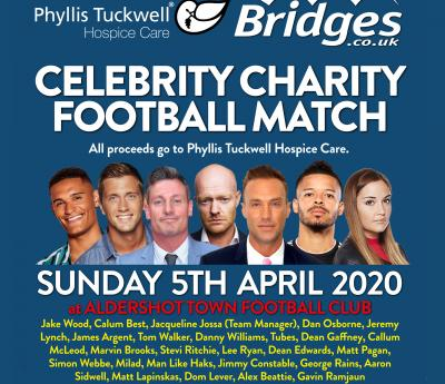 Phyllis Tuckwell Celebrity Charity Football Match 2020