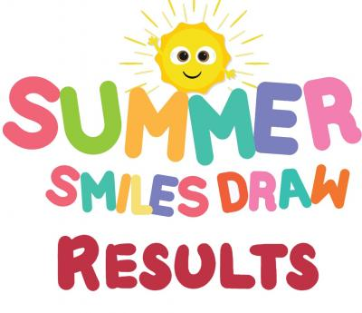 Summer Smiles Draw Results