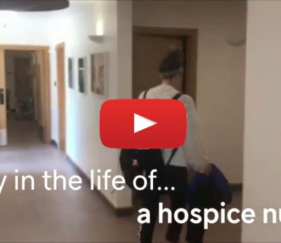 A day in the life of a hospice nurse