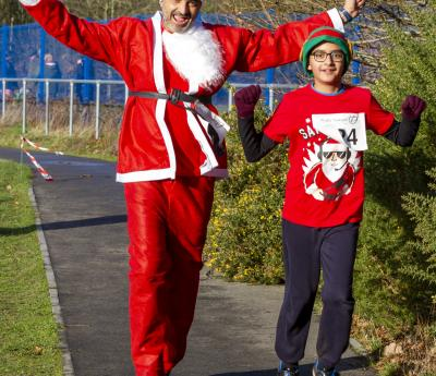 Running Santas Support Phyllis!