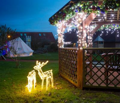 Shooting Star Children's Hospice Winter Wonderland