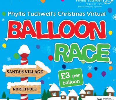 Lapland Start for Phyllis Tuckwell's Virtual Balloon Race
