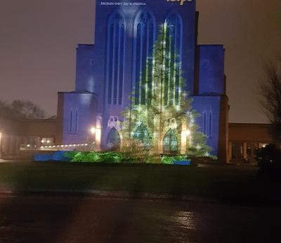 Phyllis Tuckwell Lights Up Guildford Cathedral To Remember Loved Ones