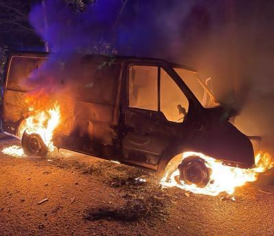 Phyllis Tuckwell Van Stolen and Set On Fire
