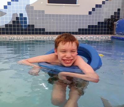 Hydrotherapy pool fun